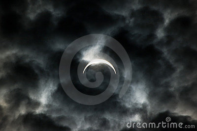 Solar Eclipse 2008 Editorial Image
