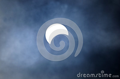Solar eclipse Editorial Stock Photo