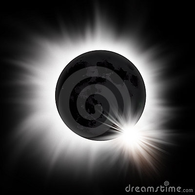 Free Solar Eclipse Of The Sun Stock Image - 13373861