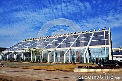 Solar energy building