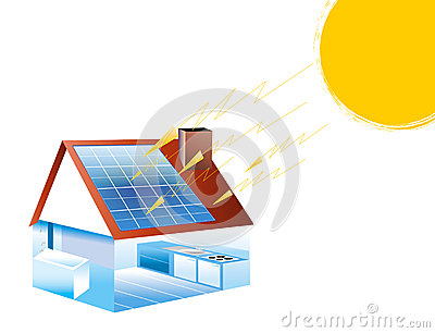 Solar Energy Stock Photo Image 32021870