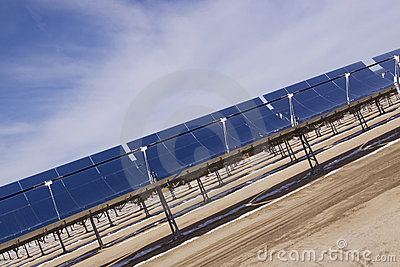 Solar energy with panels