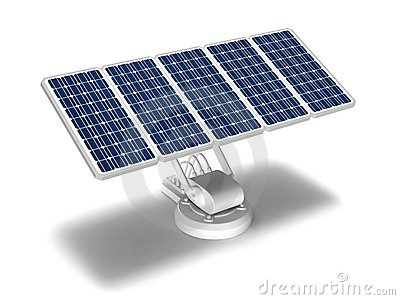 solar energy the power of the sun energy produced by solar panels b ...