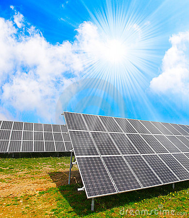 Solar energy panels.