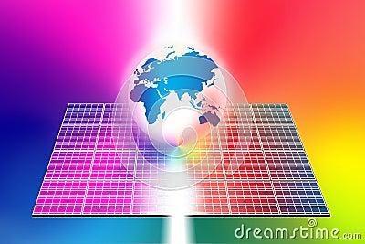 Solar energy panels world