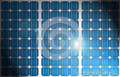Solar energy pattern.