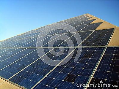 Solar Energy Pyramid Stock Photos Image 3064183