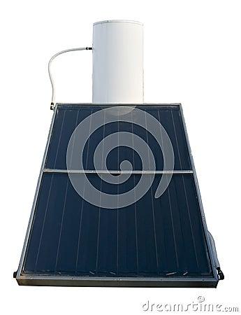 Free Solar Energy Water Heater Royalty Free Stock Photo - 6088715