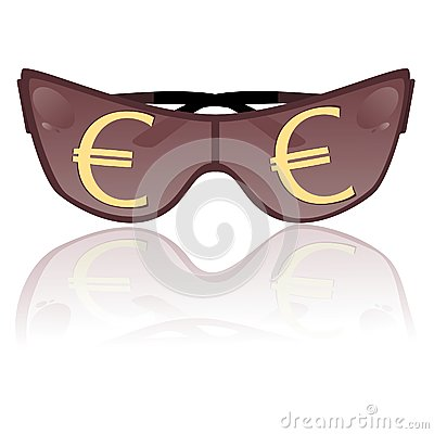 Solar glasses. Vector illustration