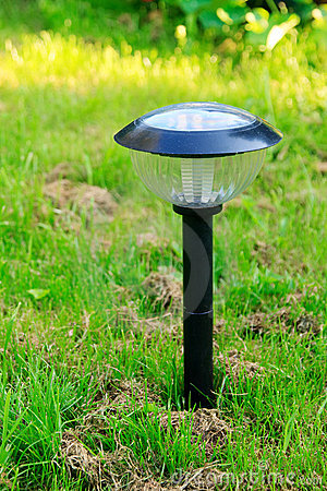 Free Solar Lamp Royalty Free Stock Photo - 10886385