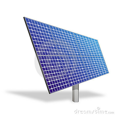 Solar panel. Ecological power.
