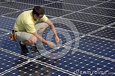 Solar Panel Install