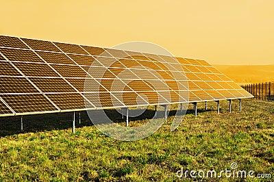 Solar panel, renewable sun power