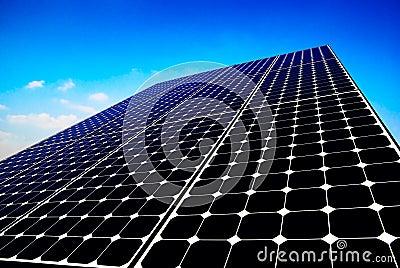 solar panel sun energy