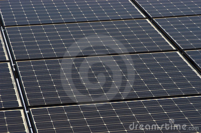 Solar Panel Tiles Closeup, Panels Green Energy