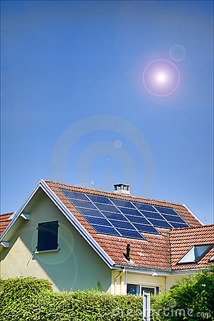 Free Solar Panels Stock Images - 13078224