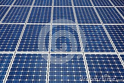 Solar panels cells