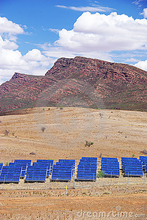 Solar Panels & Mountains