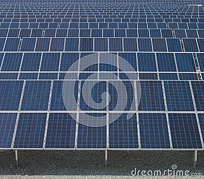 Solar panels, new energy