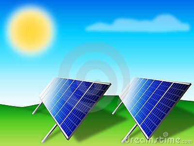 Solar panels - photovoltaic
