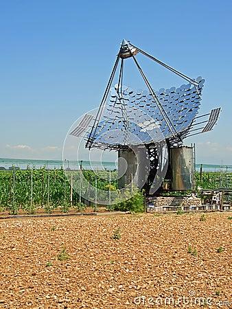 Solar panels, vertical