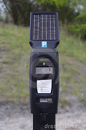 Solar Pay and Display machine