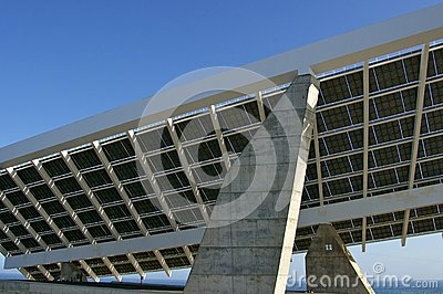 Solar Plant in Port Forum Barcelona