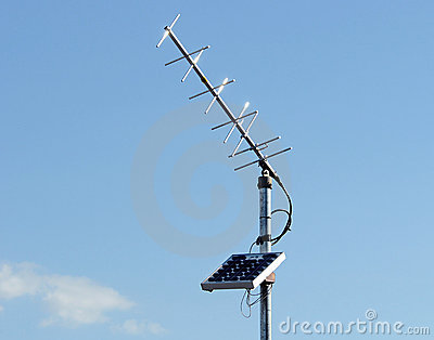 Solar power antenna