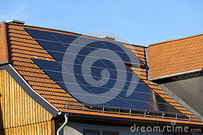 Solar power photovoltaic energy panels
