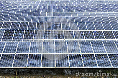 Solar power plant using renewable