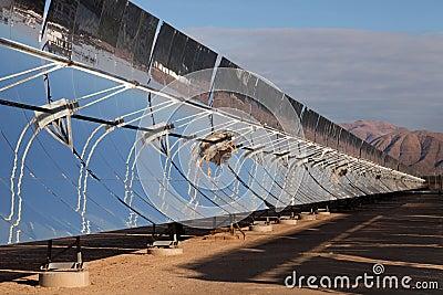 Solar power reflectors