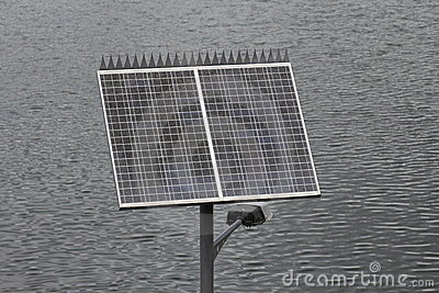 Solar powered outdoor light