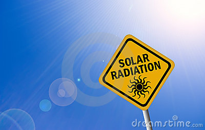 Solar radiation sign