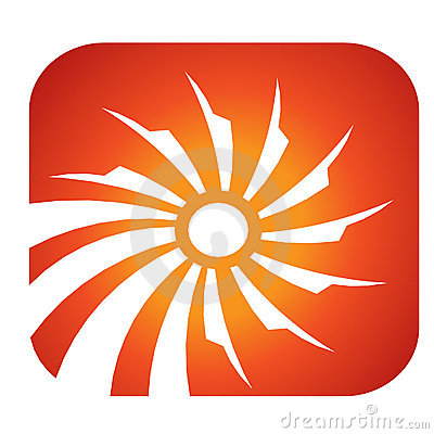 Sun Solar rays logo