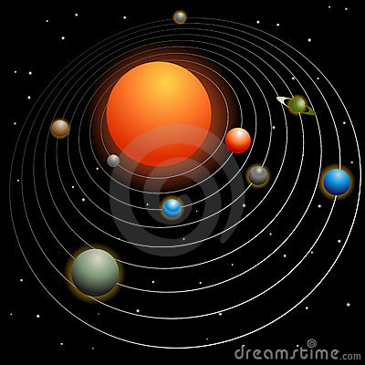 Free Solar System Royalty Free Stock Images - 12833509