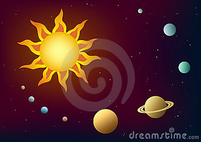 Solar System Royalty Free Stock Images - Image: 3879279