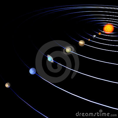 solar system paths - photo #42