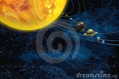 Solar system space