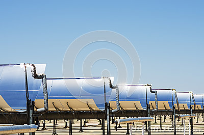 Solar Thermal Electric Plant