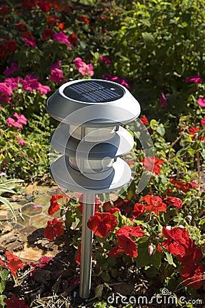 Solargarten-Leuchte