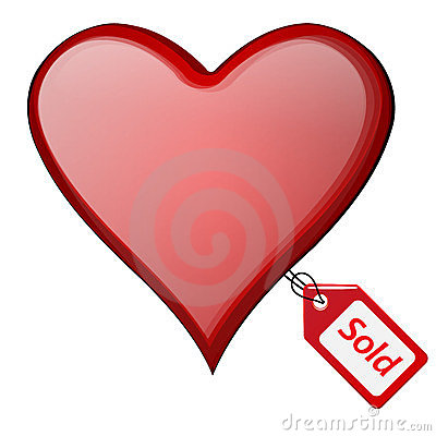 Sold heart