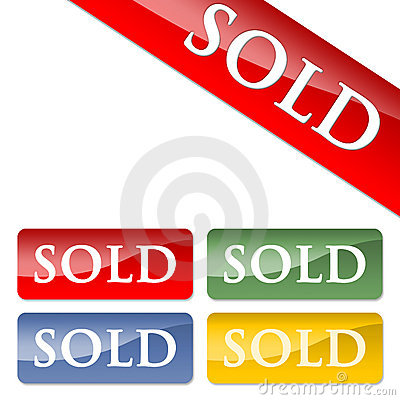 Free Sold Icons Royalty Free Stock Image - 2117096