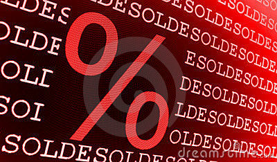 Sold percentage sign
