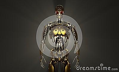 Soldado do robô