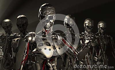 Soldados do robô