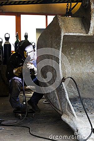 Soldadura en taller