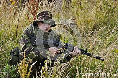 Soldat britannique