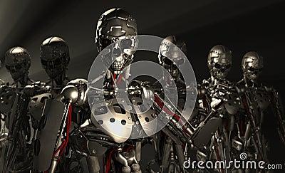 Soldats de robot