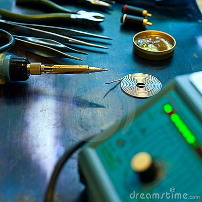 Free Soldering Background Stock Images - 10426224