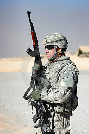 Free Soldier Stock Image - 17762361